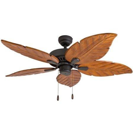 Ecosure Aruba 52 Inch Tropical Bronze Indoor Ceiling Fan