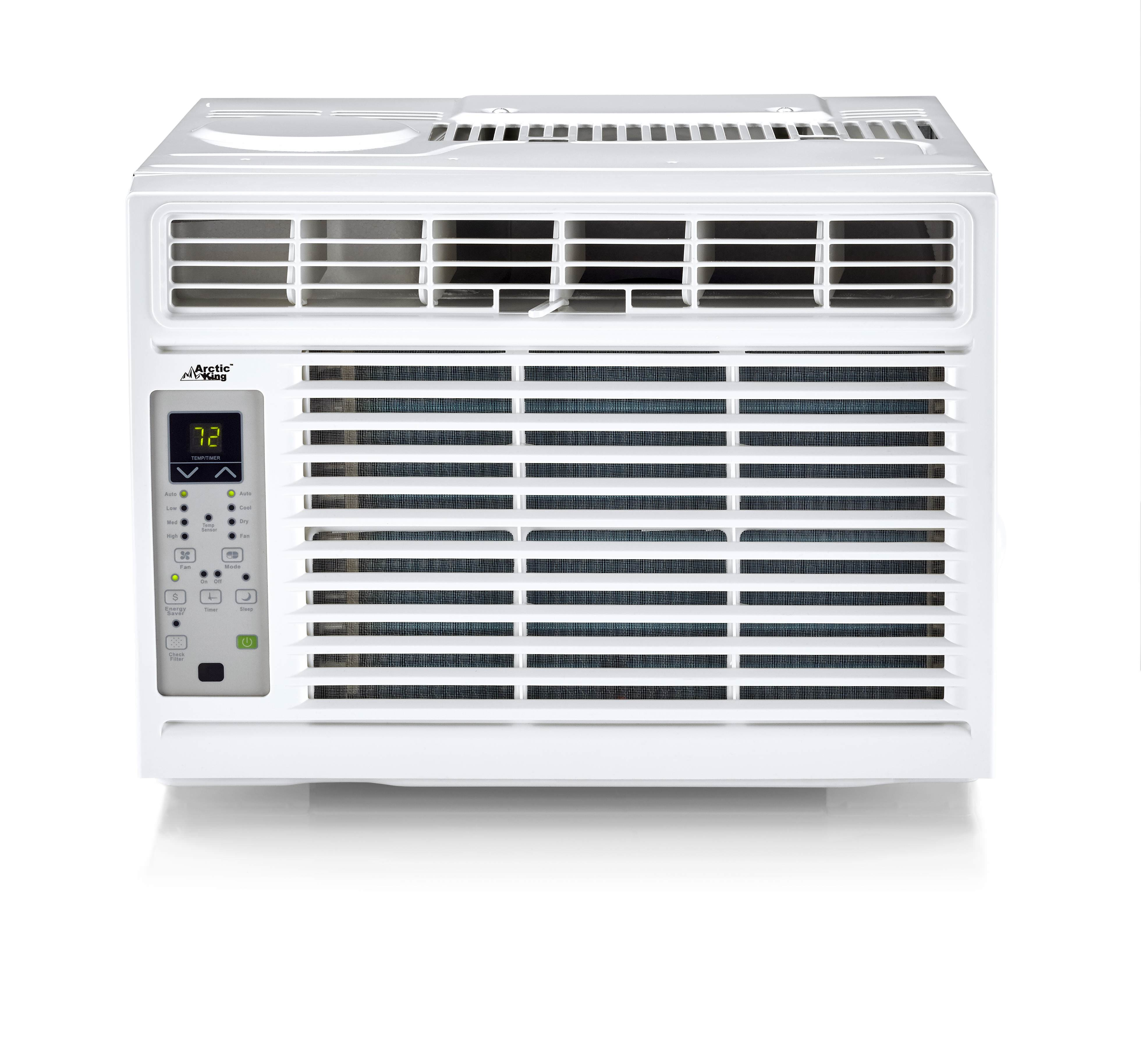 Arctic King 8,000Btu Remote Control Window Air Conditioner, White WWK08CR81N