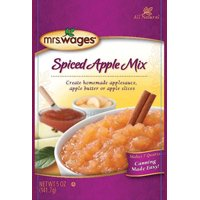 Mrs. Wages W800-J4425 Spiced Apple Mix Sauce, 5 oz Pouch 12 Pack