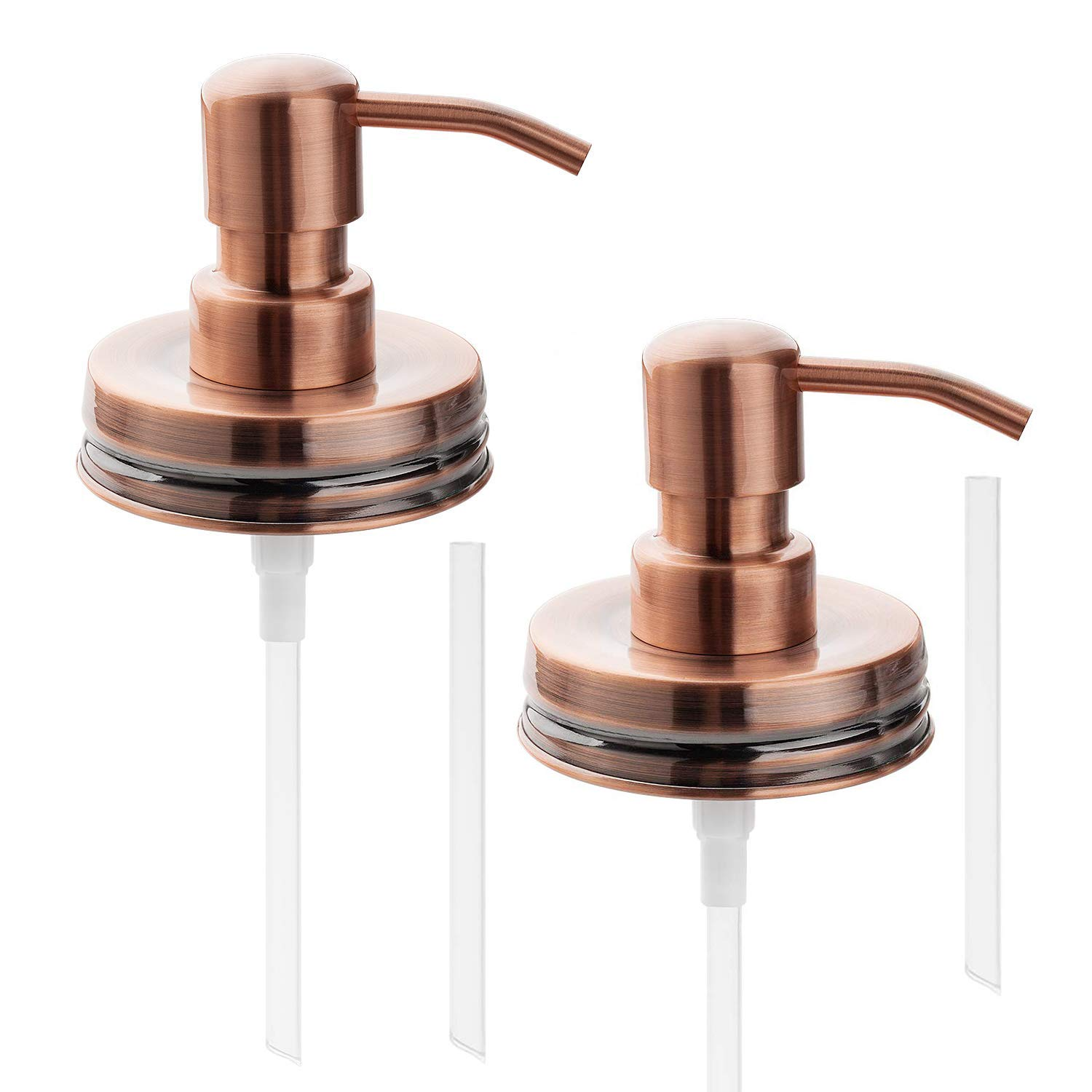 Lexon Copper Soap Dispenser Lids Stainless Steel Lotion