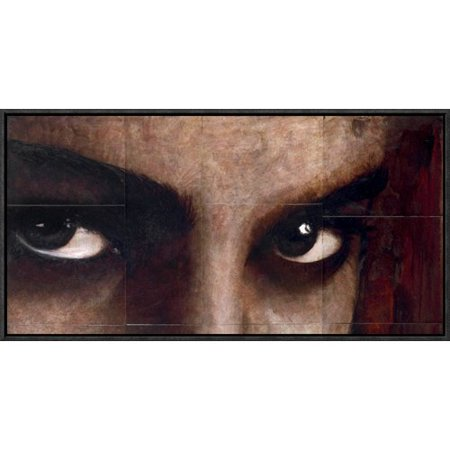 Global Gallery 'Sguardo di Donna' by Massimo Sottili Framed Painting Print on (Donna Painting)