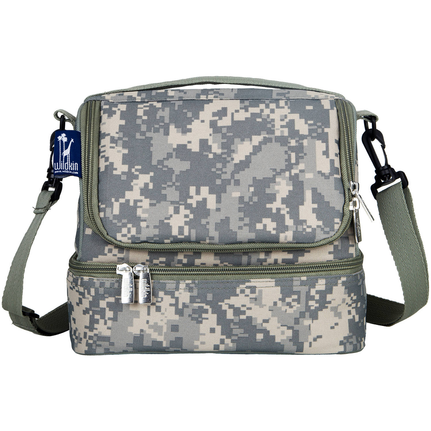 Wildkin Digital Camo Two Compartment Lunch Bag