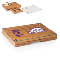 TCU Horned Frogs Concerto Cheese Board with Serving Stage and Tools