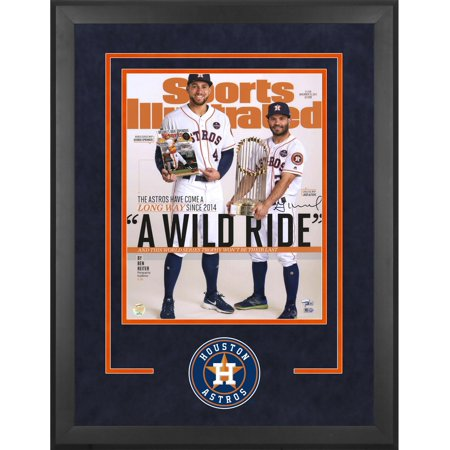 89110e517 Jose Altuve Houston Astros 2017 MLB World Series Champions Deluxe Framed  Autographed 16