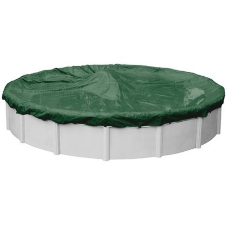 Robelle 12-Year Supreme Round Winter Pool Cover, 30 ft. (Pool Winter Plug)