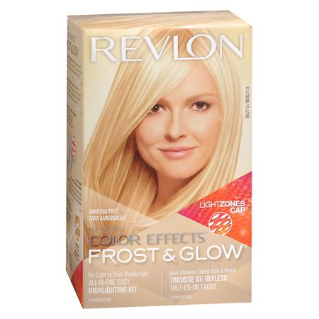 Revlon Color Effects Frost & Glow, Platinum 1.0 ea(pack of 4)