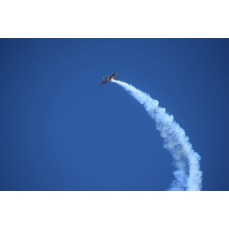 Framed Art For Your Wall Evolution Plane Sky Stunt Plane Acrobatic Airplane 10x13 Frame