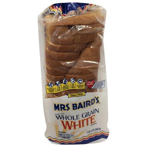 Mrs Baird's Whole Grain White Bread, 20oz