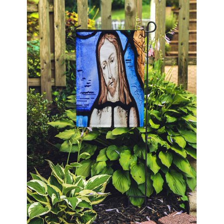 JSDART Tervuren Belgium March 13 Stained Glass in The Church Garden Flag Decorative Flag House Banner 28x40 inch - image 2 of 2