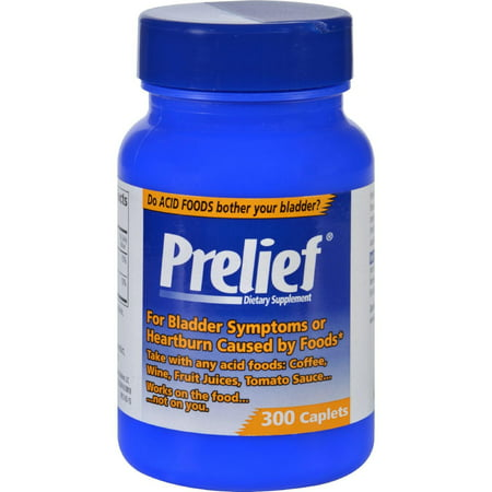 Prelief Heartburn Tablets, 300 Ct (Best Way To Get Rid Of Heartburn Naturally)