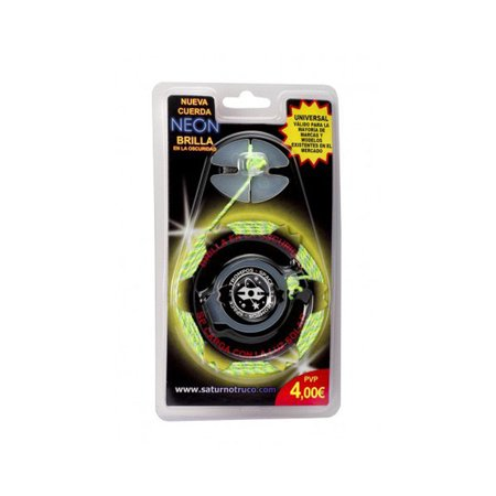Replacement String with Button for Spin Top by Trompos Space (Neon Green)