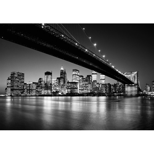 Brewster Home Fashions Ideal Decor Manhattan Skyline Wall Mural