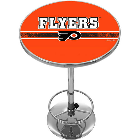 NHL Chrome Pub Table, Philadelphia Flyers by