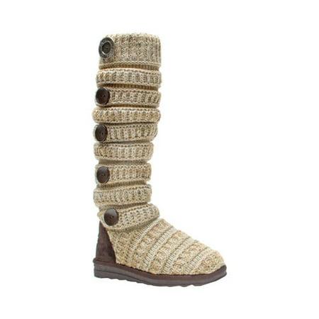 Women's Miranda Marled Texture Stripe Boot