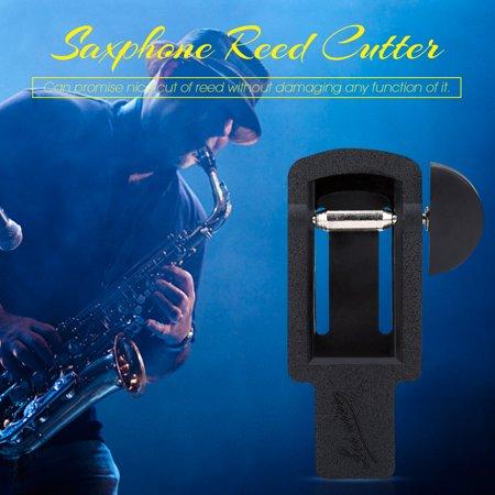 Garosa Saxphone Reed Trimmer,Soprano Alto Tenor Saxophone Sax Clarinet Reed Trimmer Cutter Repair Tool Reed Trimmer - image 6 de 7