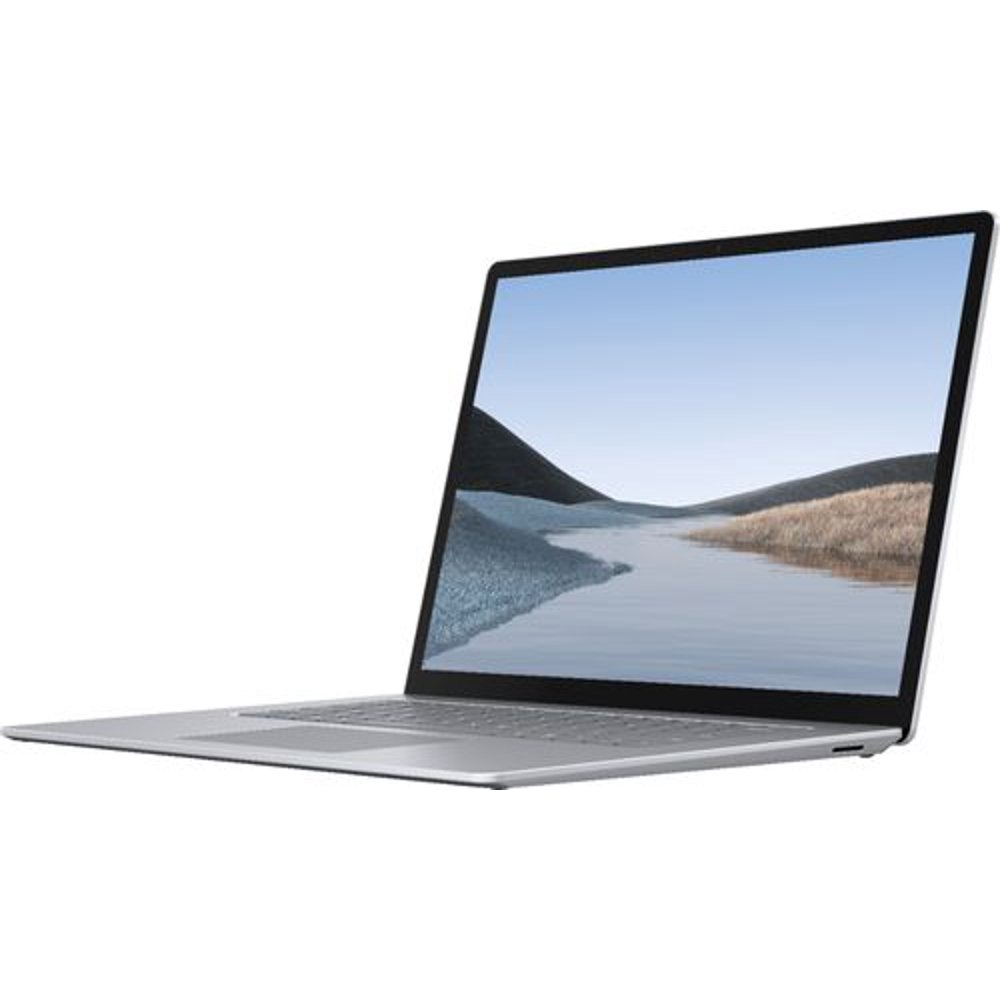 """Microsoft Surface Laptop 3, 15"""" Touch-Screen, AMD Ryzen 5 Surface Edition, 8GB Memory, 128GB Solid State Drive, Platinum, V4G-00001"""