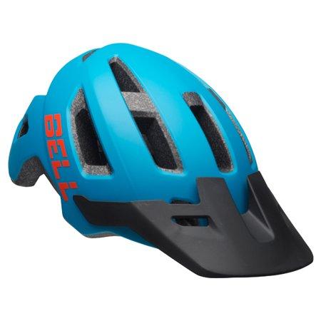 Bell Soquel Youth Bike Helmet, Blue Lagoon/Orange