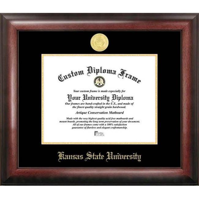 Kansas State University  Gold Embossed Diploma Frame