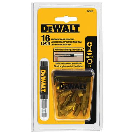 Dewalt DW2053 16-Piece Magnetic Drive Guide Set Dewalt Magnetic Drive Guide