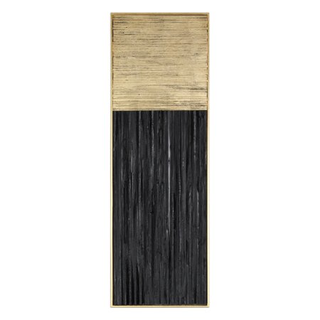New Product  Uttermost Pierra Gold Leaf Wall Art Sold by VaasuHomes