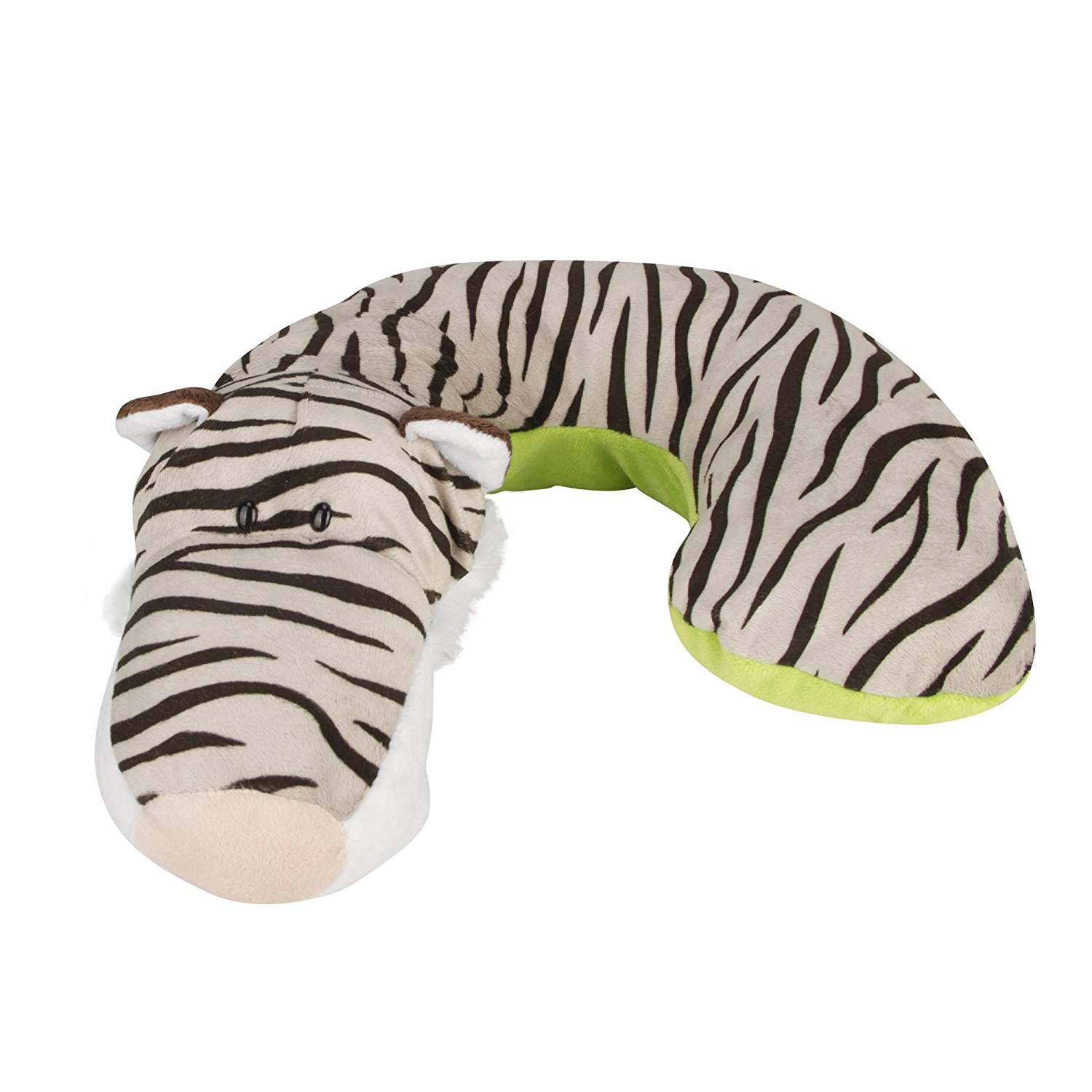 Kid's Neck Support Pillow, White Tiger, Toddler Car Seat Pillow, Baby Head Support, Child Travel By Animal... by Animal Planet