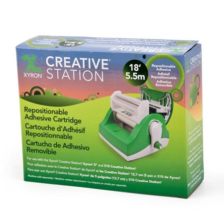 Xyron Refill For Creative Station Repo Adhesive 5In 18Ft (Creative Station Magnet Refill)