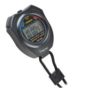 Insten Electronic LCD Timer Digital Sport Stopwatch Date Time Alarm Clock Counter Chronograph (with Neck Strap)