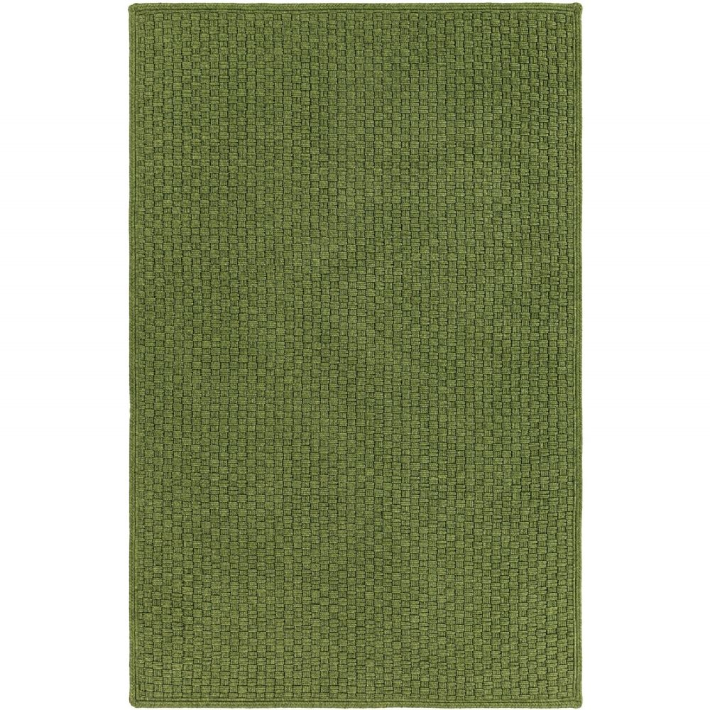 Contemporary Cordoba Collection Area Rug in Sage and Oval, Rectangle, Round, Runner Shape