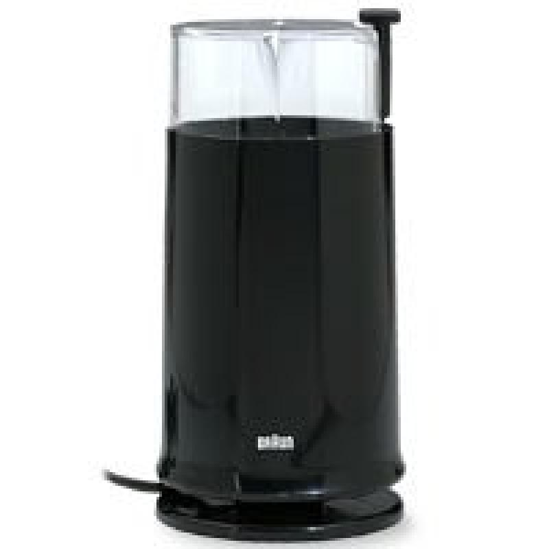 Braun KSM2-BLK Aromatic Coffee Grinder, Black by