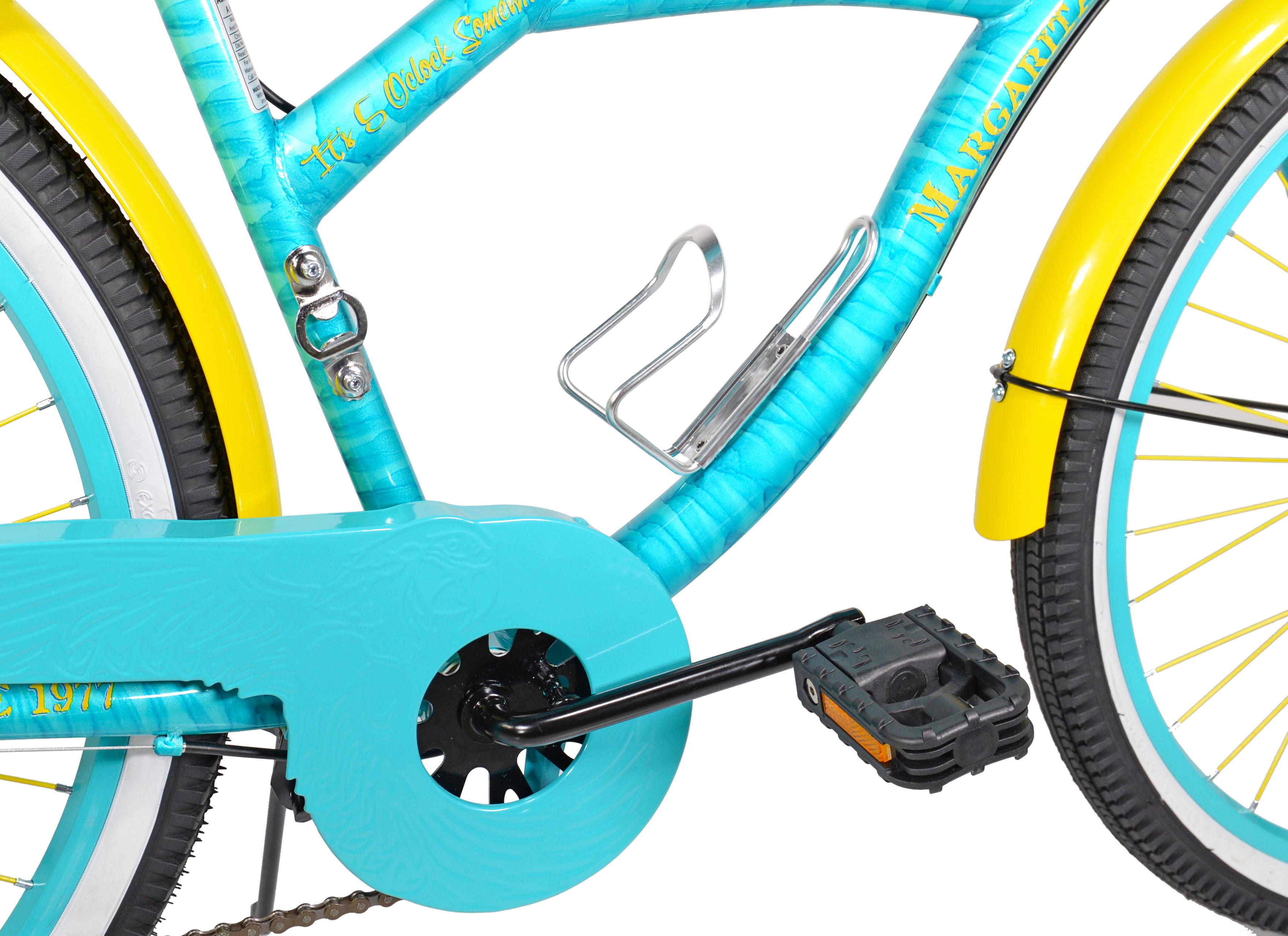 """NEW 26/"""" Women/'s Margaritaville Multi-Speed Cruiser Bike Shimano Cantilever"""