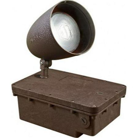 Dabmar Lighting FG-DPR38-BZ-100MH-MT MT In-Ground Ballast Box with Bronze Bullet & PAR38 Lamp