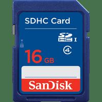 SanDisk SDHC/SDXC Memory Card 16GB