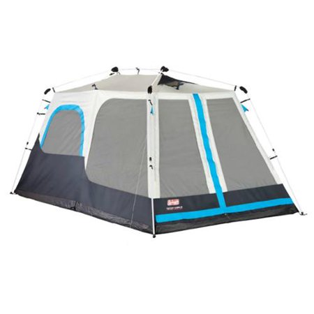 COLEMAN 8 Person 2 Room Family Camping Instant Cabin Tent w/ Mini-Fly 14' x 8'