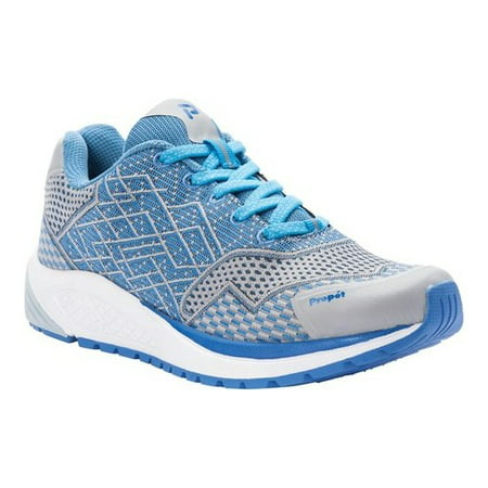 Propet Women's Propet One Walking Sneakers Blue Mesh EVA Rubber 9