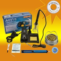 Aoyue 469 Kit  includes 60 Watt Soldering Station, Solder Wire, Flux and Much More