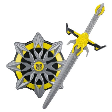 Transformers Bumblebee The Last Knight Hasbro Toy Sword with Awesome Battle Sound Effects and Shield Battle Pack - Sound Sword