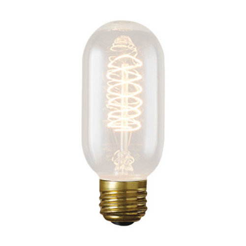 Bulbrite Industries 40W Amber 120-Volt Incandescent Light Bulb (Set of 3)