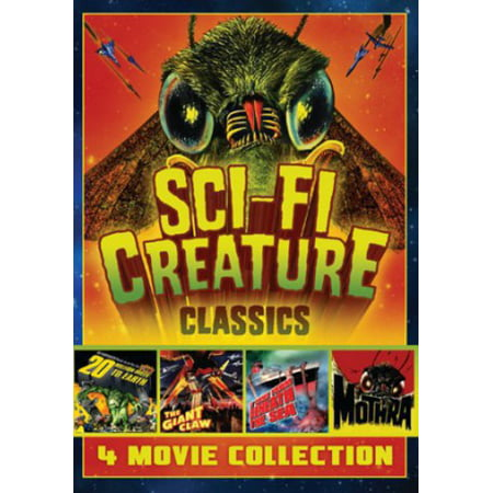Sci-Fi Creature Classics: 4 Movie Collection (DVD) (Sci Fi Halloween)