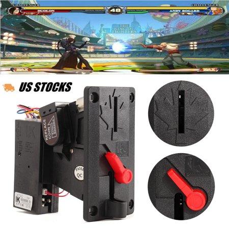 Vending Machine Arcade Card (CPU Coin Acceptor Slot Machine Selector Top Entry Mechanism Arcade Slot Vending Game)