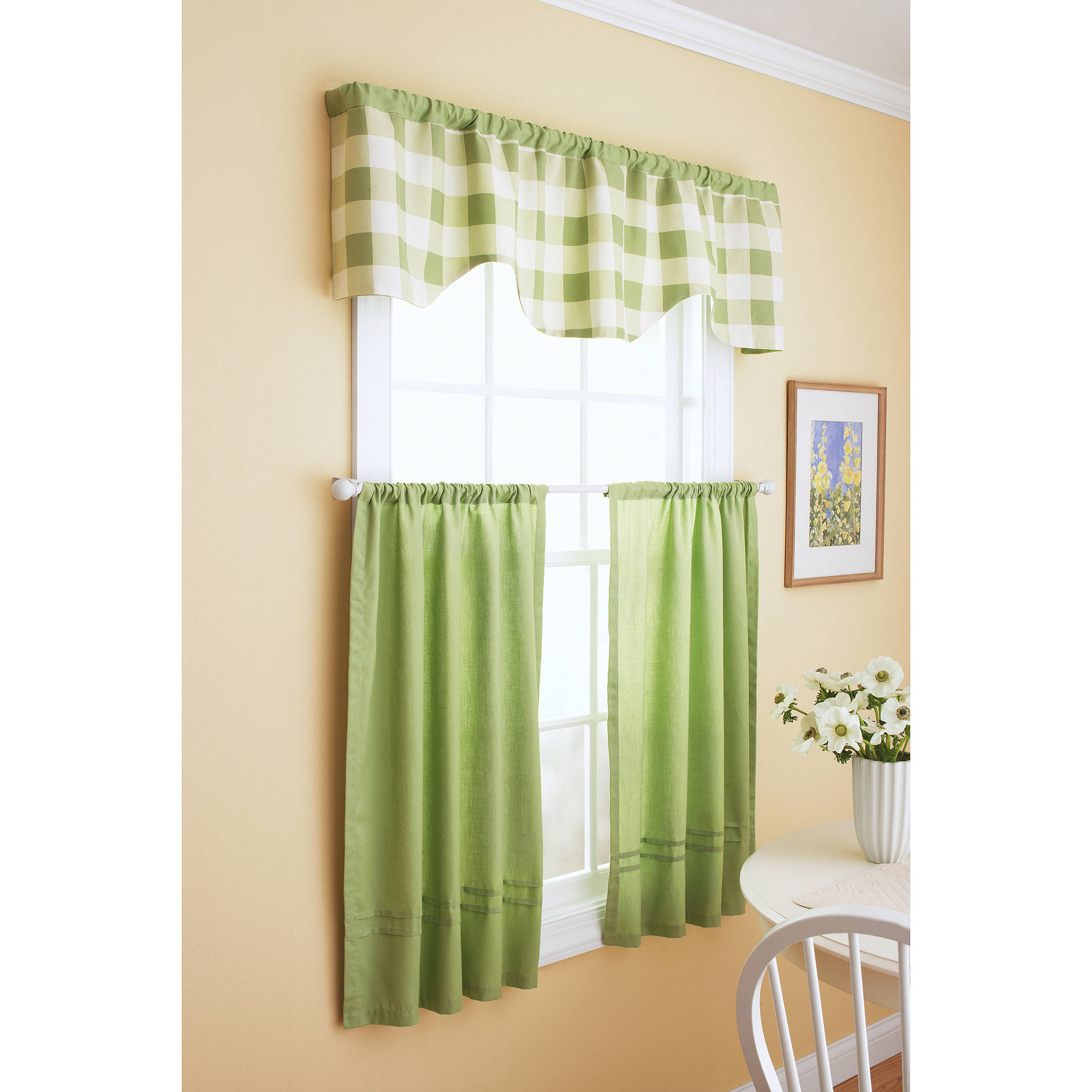 Window curtains and valances set curtain menzilperde net Better homes and gardens valances for small windows
