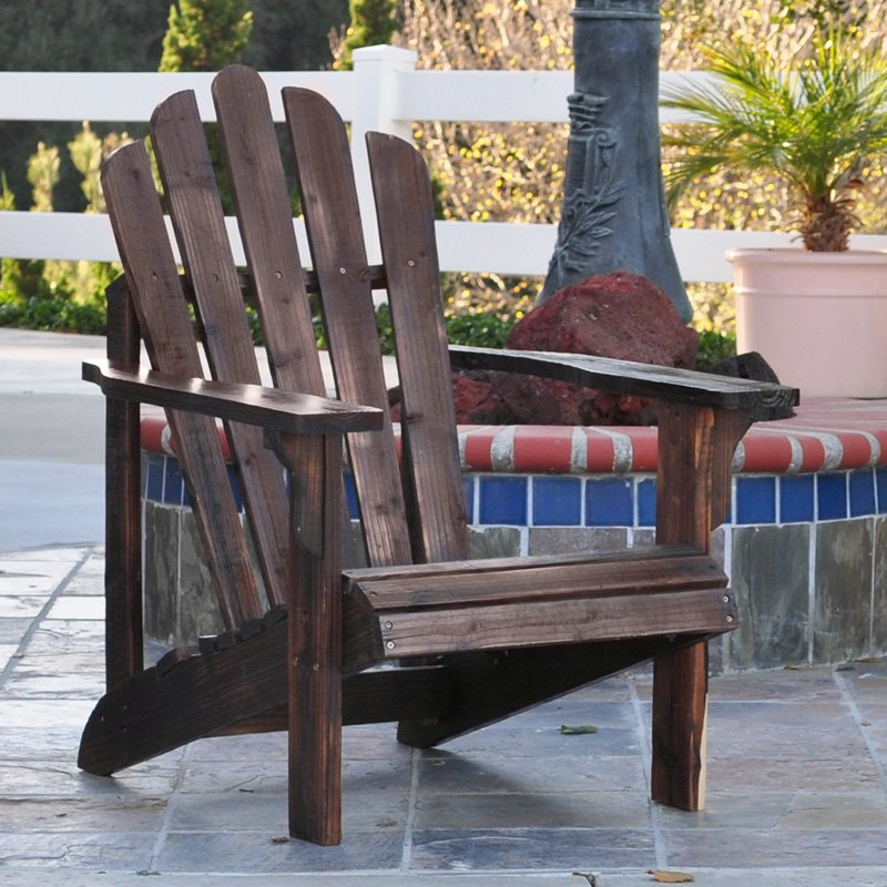 Adirondack Cedar Chairs shine company westport cedar adirondack chair - walmart