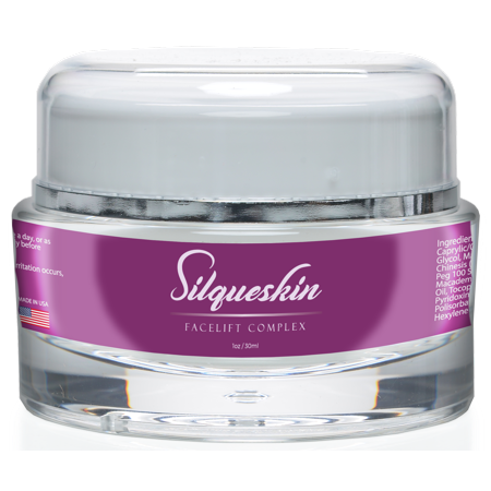 Silqueskin Facelift Complex - Premium Anti-Aging Day & Night Moisturizer For All Skin Types - Promote Collagen Production and Reduce Fine Lines and Wrinkles - 1oz/30ml