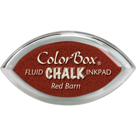 Colorbox Cats Eye Queue Chalk - ColorBox Fluid Chalk Cat's Eye Ink Pad-Red Barn