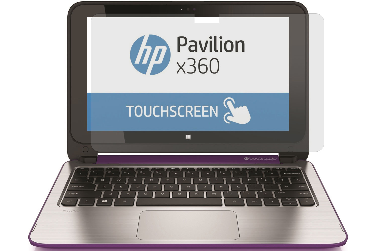 for HP Pavilion XA1014 23.8 Touch Screen AIO Computer High Clarity Anti Scratch PcProfessional Screen Protector Set of 2