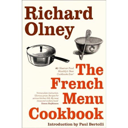 Hardback Menu Covers (The French Menu Cookbook (Paperback) )
