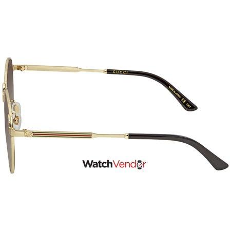 eea89ba4b02 Gucci Grey Gradient Round Sunglasses GG0206SK 001 58 - image 1 of 3 ...