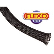 Techflex PTN0.50BK25 Flexo PET General Purpose 1/2-inch Braided Cable Sleeve, Black - 25 Foot