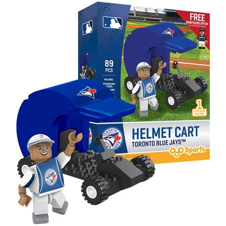 (Toronto Blue Jays OYO Sports Batting Helmet Cart Figurine - No Size)