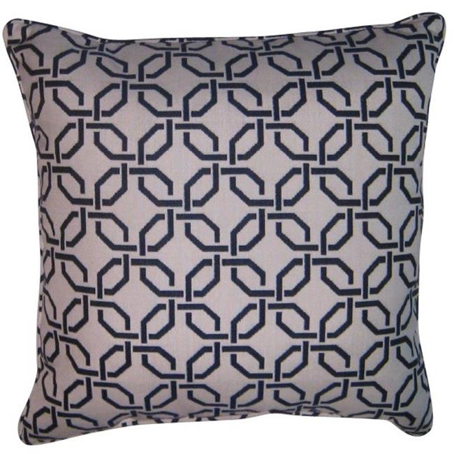 Easy Way 10222u F45767 20 X 20 Inch Piped Zipper Outdoor Pillow