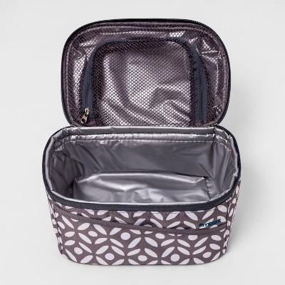 Embark Personal Lunch Bag Gray Geo Print Walmart Com